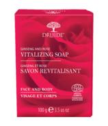 Druide Vitalizing Ginseng & Rose Bar Soap