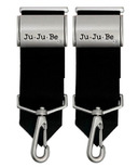 JuJuBe Be Connected Stroller Clip Silver