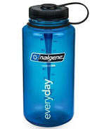 Nalgene 32 Ounce Tritan Wide Mouth Loop Blue