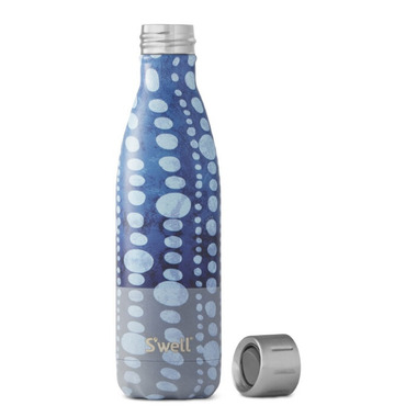 S\'well Sport Collection Stainless Steel Water Bottle Blue Polka Dot
