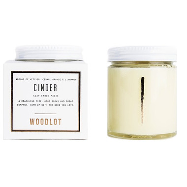 Woodlot Cinder Coconut Wax Candle