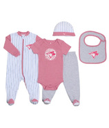 Toronto Blue Jays by Snugabye Gift Set Pink