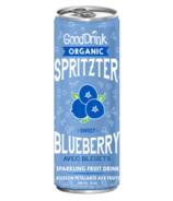GoodDrink Sweet Blueberry Spritzer