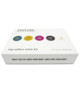 Routine De-Odor-Cream Natural Deodorant Top Sellers Minis Kit