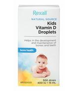Rexall Vitamin D Kids Drops