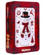 Walkers Snowman Tin Festive Shortbread Shapes