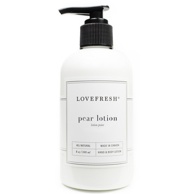 Lovefresh Pear Hand & Body Lotion