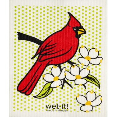 Wet-It Swedish Cloth Cardinal