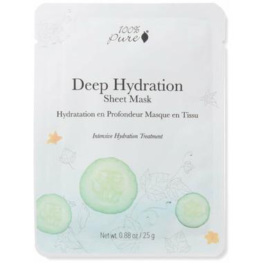 100% Pure Sheet Mask Deep Hydration