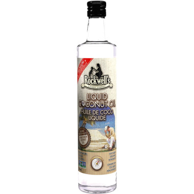 Rockwell\'s Whole Foods Liquid Coconut Oil
