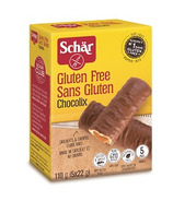 Schar Gluten Free Chocolix Caramel Cookie Bars
