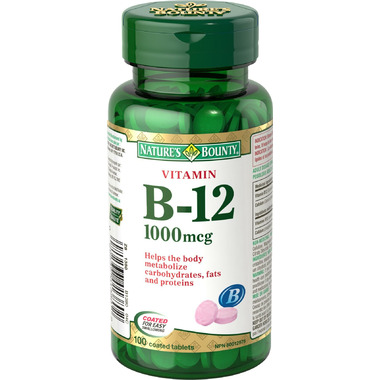 Nature\'s Bounty Vitamin B-12