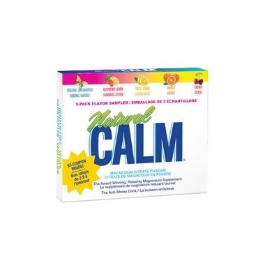 Natural Calm Magnesium Citrate Powder Travel Pack