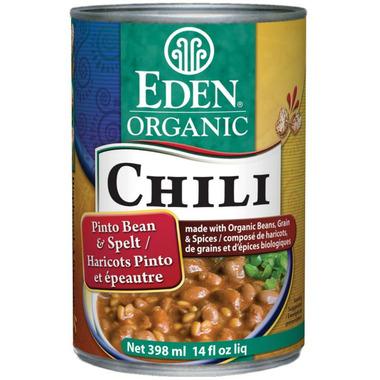 Eden Organic Chili Pinto Beans & Spelt