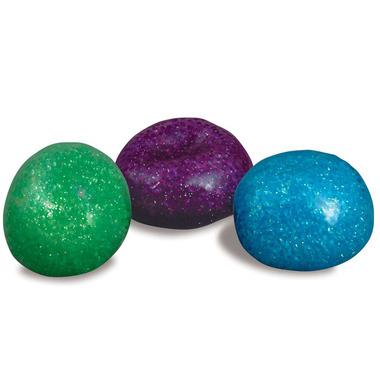 PlayVisions Fidget Toy Glitter Bead Ball