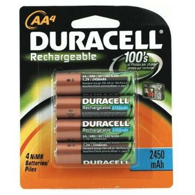 Duracell Rechargeable 2450 mAh