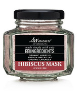 S.W. Basics of Brooklyn Hibiscus Mask