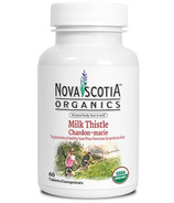 Nova Scotia Organics Milk Thistle Tablets