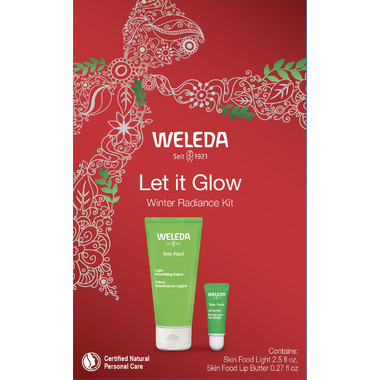 Weleda Let it Glow Winter Radiance Kit