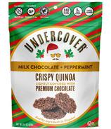 Undercover Crispy Quinoa Milk Chocolate + Peppermint