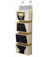 3 Sprouts Hanging Wall Organizer Bear