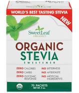 Extrait de stévia biologique SweetLeaf Grand
