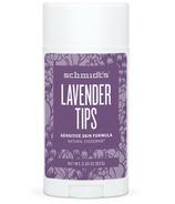 Schmidt's Deodorant Lavender Tips Sensitive Skin Deodorant