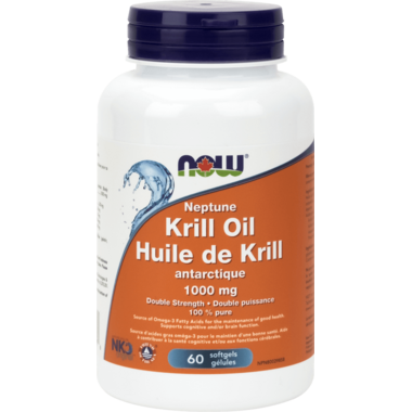 NOW Foods Neptune Krill Oil Double Strength
