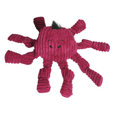 Hugglehounds Plush Corduroy Octo-Knotties Large Violet Dog Toy