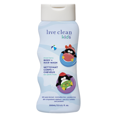 Live Clean Kids Body + Hair Wash
