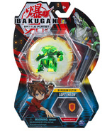 "Bakugan Ultra Lupitheon 3"" Collectible Action Figure & Trading Card"