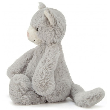 Jellycat Bashful Kitty Grey & White