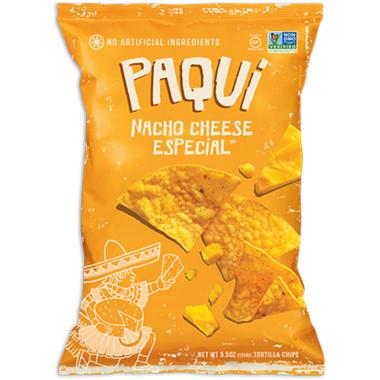 Paqui Tortilla Chips Nacho Cheese Especial