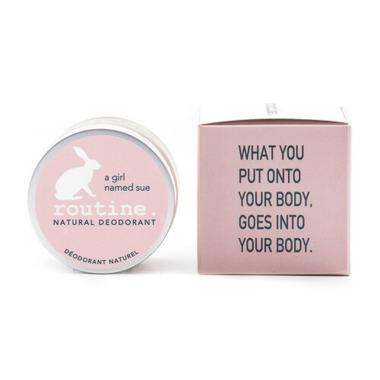 Routine De-Odor-Cream Natural Deodorant in A Girl Named Sue Scent