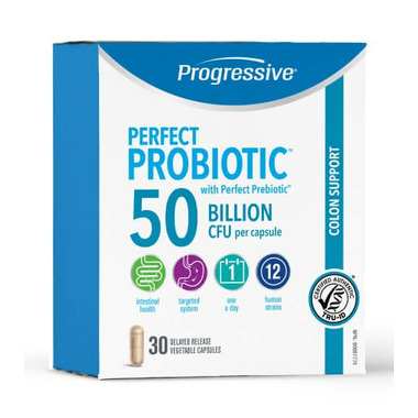 Progressive Perfect Probiotic Colon Support 50 Billion