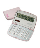 Victor Limited Edition Pink Ribbon Compact Calculator