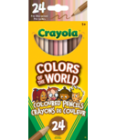Crayola Colours of the World Coloured Pencils