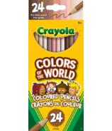 Crayola Couleurs du Monde Crayons de Couleur