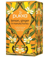 Pukka Lemon, Ginger & Manuka Honey Tea
