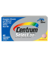 Centrum Select 50+ Chewable Multivitamin