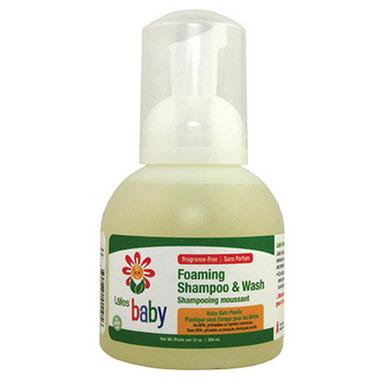 Lafe\'s Organic Foaming Baby Shampoo & Gentle Wash