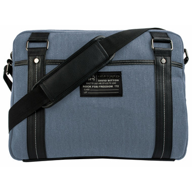 Buffalo David Bitton Robinson Denim Messenger Blue