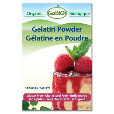 GoBIO! Organic Gelatin Powder