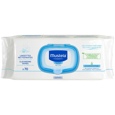 Mustela Face, Body & Diaper Area Cleansing Wipes