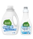 Seventh Generation Laundry Detergent + Fabric Softener Bundle