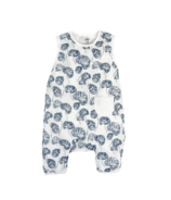 Nest Designs Bamboo Sleeveless Romper Water Lily