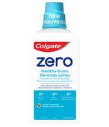 Colgate Zero Mouthwash Healthy Gums Natural Spearmint