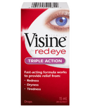 Visine For Red Eye Triple Action Eye Drops