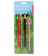 Kikkerland Tropical Pencils