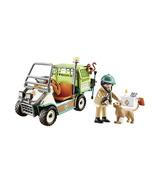 Playmobil Family Fun vétérinaire du zoo et chariot